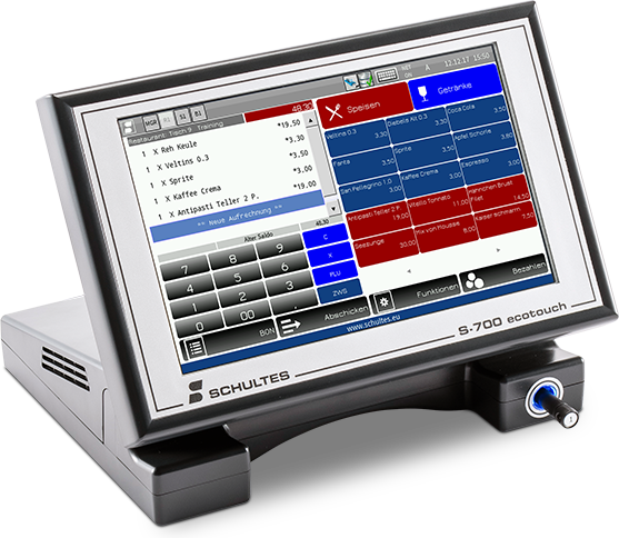 Kalicom Schultes Kassensystem S 700 ecotouch